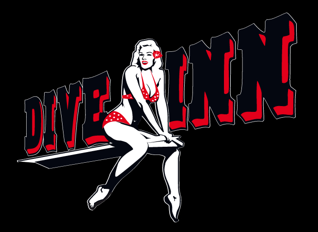dive inn logo (black)